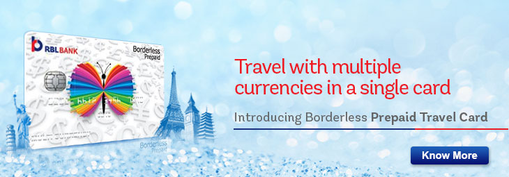 Multicurrency International Prepaid Travel Card