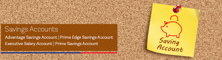 Bank Accounts - Savings Account, Current Account