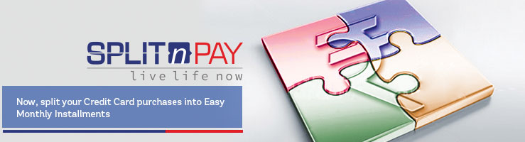 Enjoy the convenience of the best EMI option at a low interest rate for your Credit Card purchases